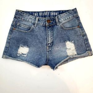 Cotton On Denim Jean Shorts The Deluxe